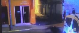 Yola çıkan araca böyle çarptı | Video