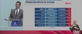 İBB'nin 2021 bütçesi 28 milyar 900 milyon | Video