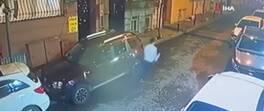 Genç kadının telefonunu çaldı, mahalleliden kaçamadı | Video