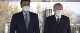 Son dakika... Katar Emiri Beştepe'de | Video