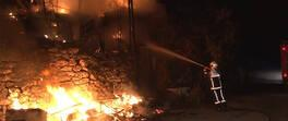 Son Dakika! Gecekondu alevlere teslim oldu | Video