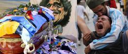 Son dakika... Maradona gözyaşlarıyla uğurlandı | Video