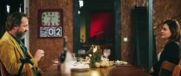 İpek ve Ateş'in romantik akşam yemeği!