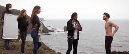 Tekin aşık fotoğrafçının gazabına uğradı!