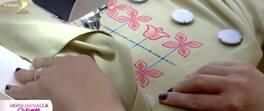 Pratik Nakış Süslemeli Bluz Yapımı