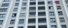 21 katlı rezidansta yangın paniği