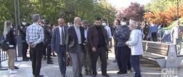 Aşı karşıtları Ankara'da toplandı