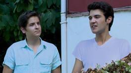 Tunç ve Metin, okuldan eve turist getirirler
