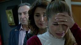 Pınar, öfkesini babasından çıkardı