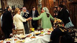 Ailecek nikahı kutladılar