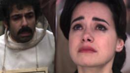 Güllü kardeşine ağlıyor