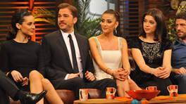 Beyaz Show'da Romantik Komedi rüzgarı