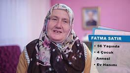 Fatma Satır'ın teşekkür mektubu