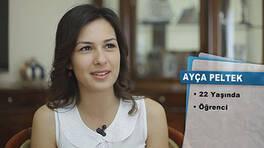 Ayça Peltek'in teşekkür mektubu