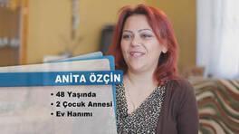Anita Özçin'in teşekkür mektubu