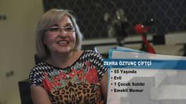 Zehra Çifci'nin teşekkür mektubu