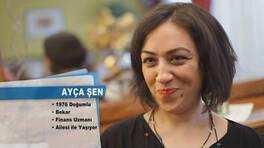 Ayça Şen'in teşekkür mektubu