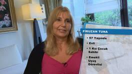 Firuzan Tuna'nın teşekkür mektubu