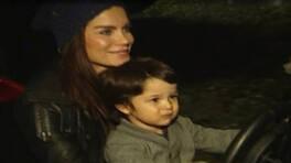 Ebru Şallı çocuklarıyla
