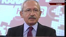 Kemal Kılıçdaroğlu Kanal D Haber'de