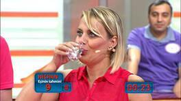 Eşiniz bir dakikada kaç bardak su içebilir?