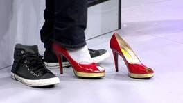 Eşiniz topuklu ayakkabıyla üç turu kaç saniyede tamamlar?