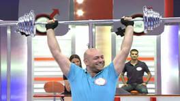 Eşiniz 60 saniyede kaç kilogramlık halter kaldırabilir?