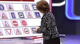 Yarışmacı trafik işaretini neye benzetti?