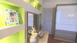 Nesrin Hanım'ın yatak odasının eski ve yeni hali