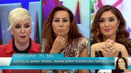 Nazan Şoray programa bağlandı ve Şenay Yangel burcunu yorumladı!