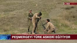 Peşmergeyi Türk Askeri eğitiyor