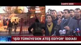 """""""IŞİD Türkiye'den ateş ediyor"""" iddiası"""