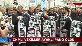 CHP'li vekiller canlı reklam panosu oldu!