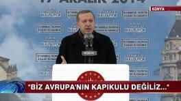 Erdoğan'dan AB'ye sert çıkış!