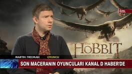 The Hobbit başrol oyuncularıyla özel röportaj