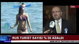 Rusya'daki ekonomik kriz Antalya'yı da vurdu
