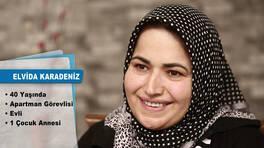 Evim Şahane Çarşamba günü,Bakırköy'de yaşayan Elvida Karadeniz'in genç odası ve salonunu yenileyecek