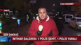 Sultanahmet'te intihar saldırısı!