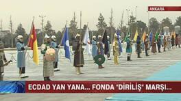 Eski Türk Devleti askerleri bu kez Aliyev'i karşıladı!