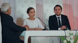 Gülru ile Cihan nikah masasında!