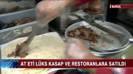 Bursa'daki at eti skandalı