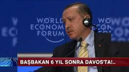 Başbakan 6 yıl sonra Davos'ta