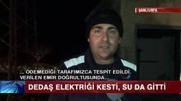 Binlerce kişi elektriksiz ve susuz