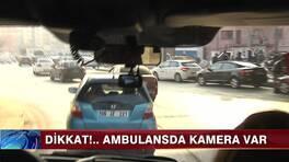 Ambulansa yol vermeyene ceza!