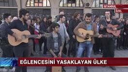 Sokak müzisyenlerinin isyanı