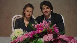 Emir ve Kübra evlendi