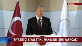 Erdoğan yüksek yargıda!