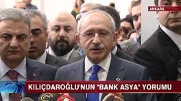 """Kılıçdaroğlu'nun """"Bank Asya"""" yorumu"""