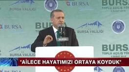 Erdoğan: 400 milletvekili lazım!