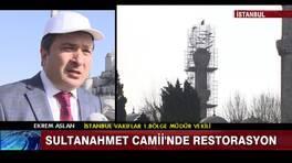 Sultanahmet Camii'nde restorasyon